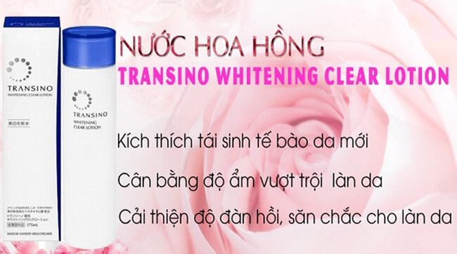 nuoc hoa hong transino whitening clear lotion 175ml anh 3