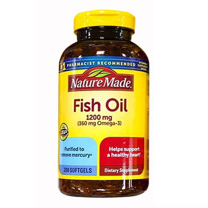Omega 3 Fish Oil 1200mg Nature Made của Mỹ